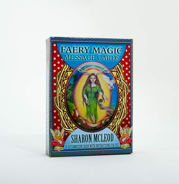 Unbranded Faery magic message cards 9780995364240