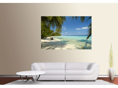 Xxl poster – beach in the south seas
