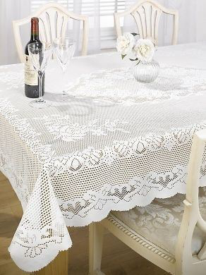 Chantal Lace Table Table Table Cloth 52inches x 70inches 869ca7