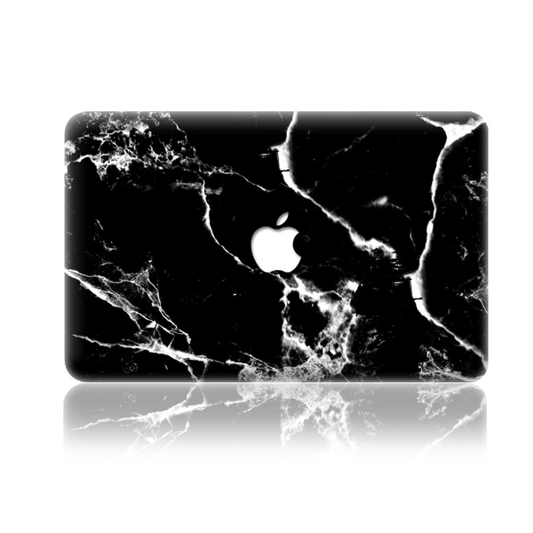 Macbook air 11 skin – black marble