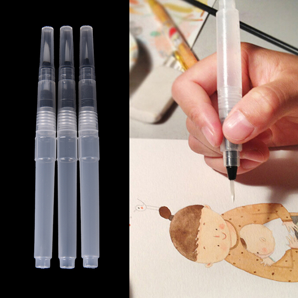 3x pilot ink pen for water brush watercolor calligraphy painting