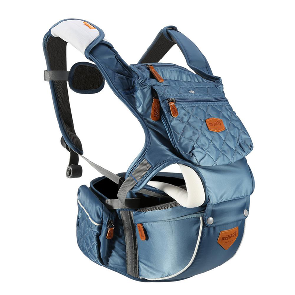 Adjustable baby infant hip seat carrier breathable ergonomic