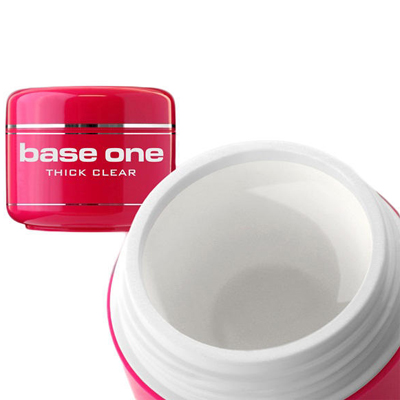Base one – builder – thick clear – 15 gram – silcare