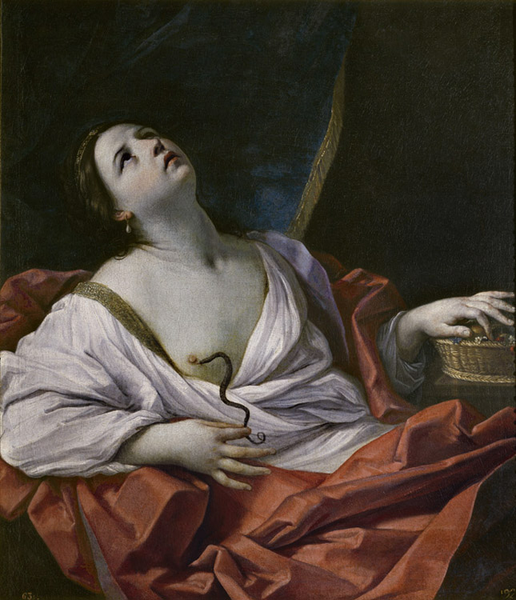The Death of Cleopatra,Guido Reni,60x50cm