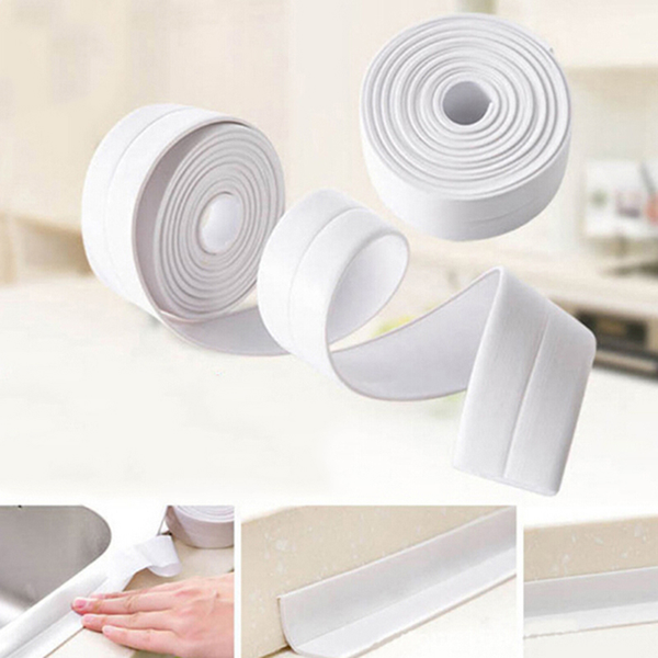 Useful kitchen bathroom wall sealing tape waterproof mold proof