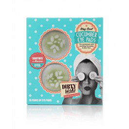 Dirty works stay cool cucumber eye pads
