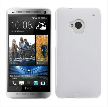 Case-mate barely there för htc one (vit)