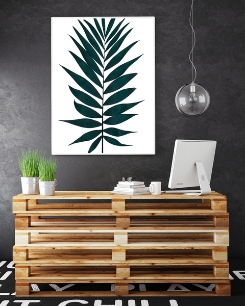 Poster Poster Poster - Palmblad mix no.3 A3 30x40cm 87eef4