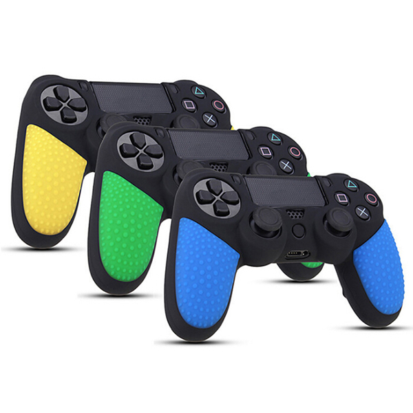 Rubber durable silicon case gamepad protection skin for playstat