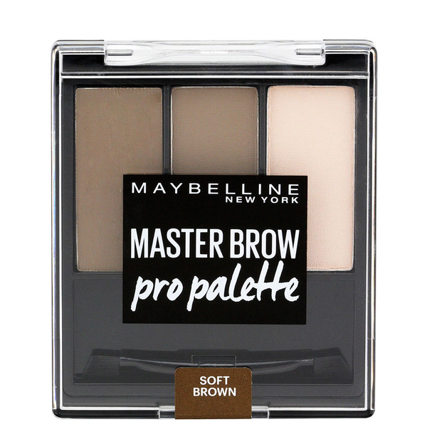 Maybelline master brow pro palette – soft brown