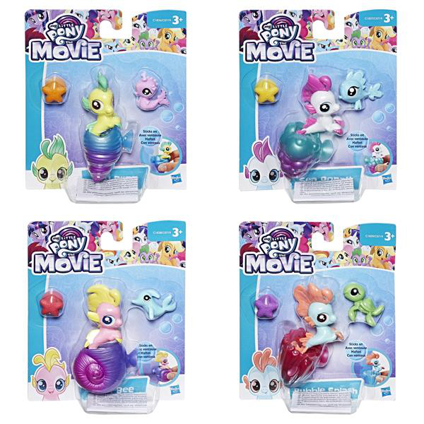 My Little Pony the Movie Baby Seapony - Jelly Bee, Lily Drop m.m