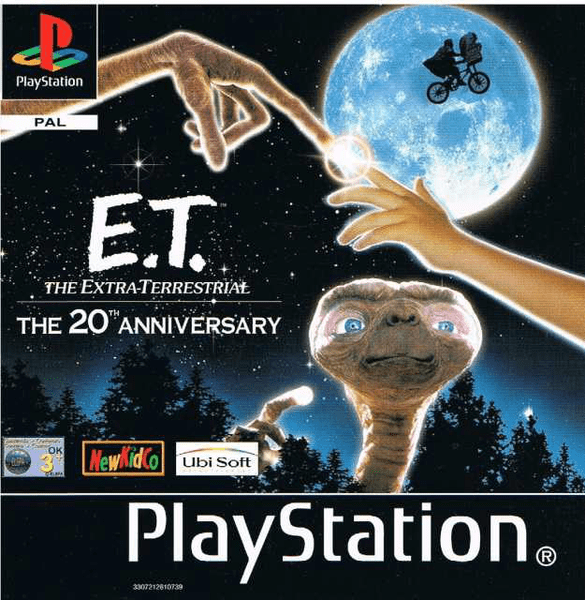 E.t. – the extra-terrestrial – ps1