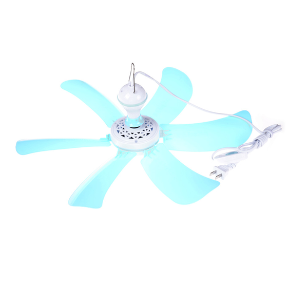 Six leaf mini ceiling fans cool mosquito net electric large wind