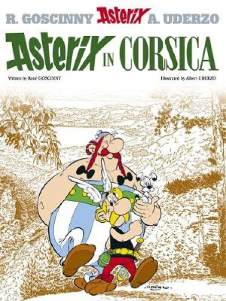 Asterix asterix in corsica by rene goscinny