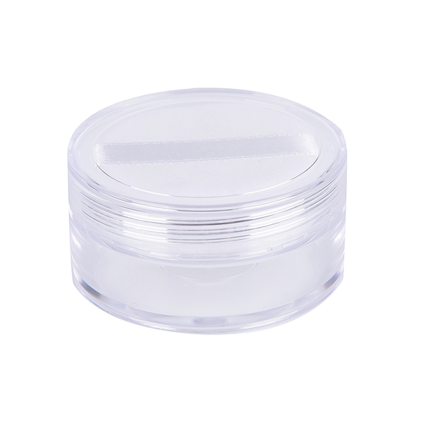 12ml empty cosmetic sifter loose powder jar container puff box m