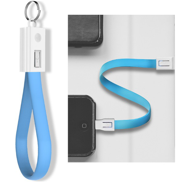 New USB Cable For iPhone 7 Plus 8 X 6 5 Charger (Blue)