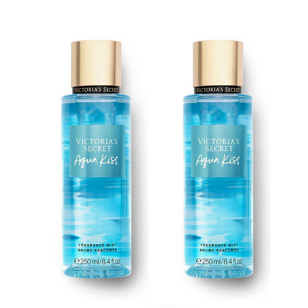 2-pack victoria's secret aqua kiss fragrance mist 250ml