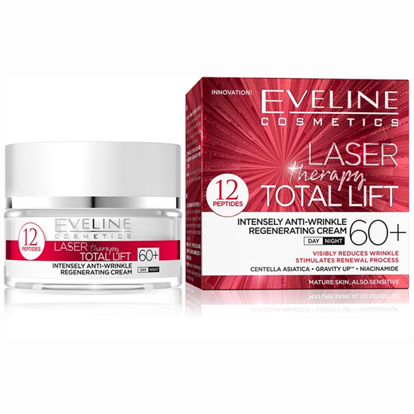 Ny! laser therapy total lift day and night cream 60+