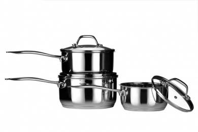 Tenzo 3pc saucepan set