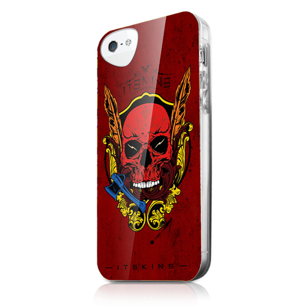 Itskins skal till apple iphone 5 / 5s / se – devil skull + s