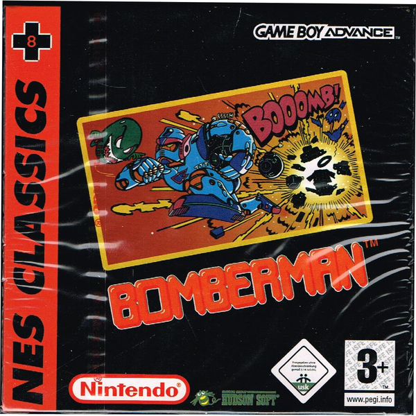 Bomberman nes classics gameboy advance