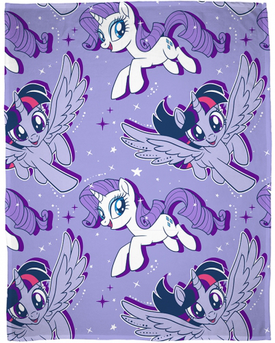 My little Pony Filt - lila Fleecefilt