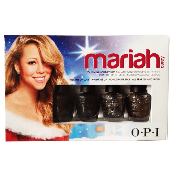 Opi mariah carey holiday mini collection