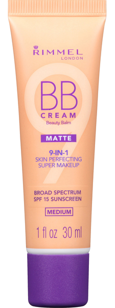 Rimmel matte bb cream 9 in 1 spf 15 – medium