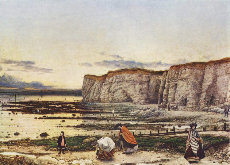 Pegwell Bay in Kent.A Kent.A Kent.A Recollection of,William Dyce,50x40cm 262f6e