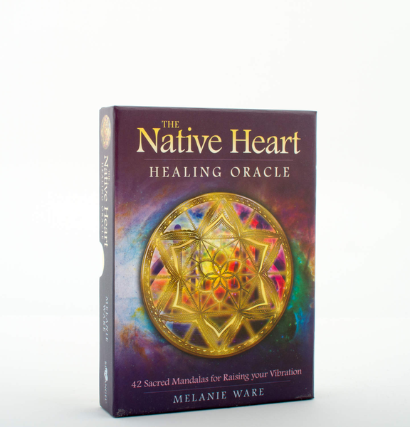 Unbranded Native heart healing oracle 9781925538229