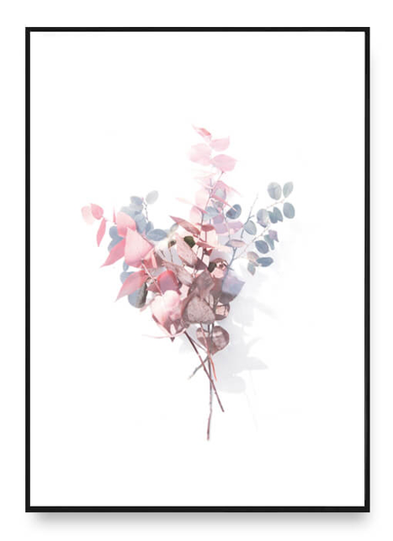 Bouquet of leaves poster a3