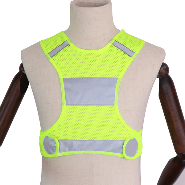 1pc high visibility reflective vest unisex outdoor safety vests