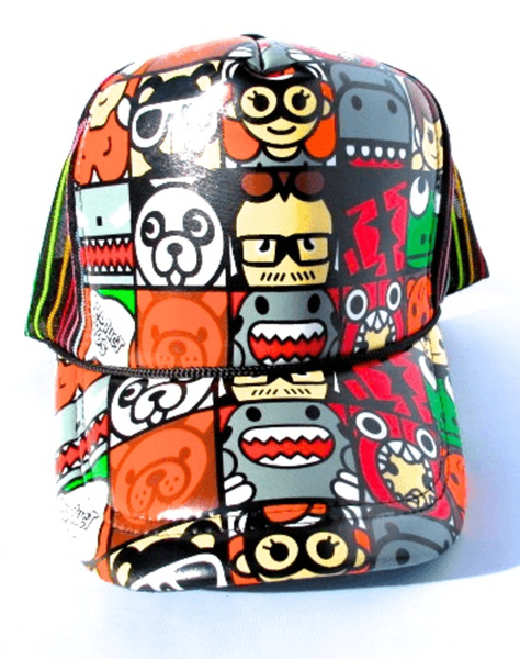 Bape milo cartoon – trucker cap