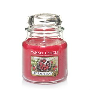 Yankee candle m-jar red raspberry nyhet !