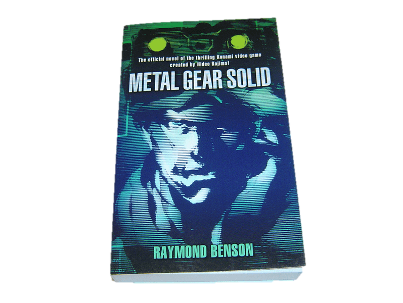 Metal gear solid pocketbok