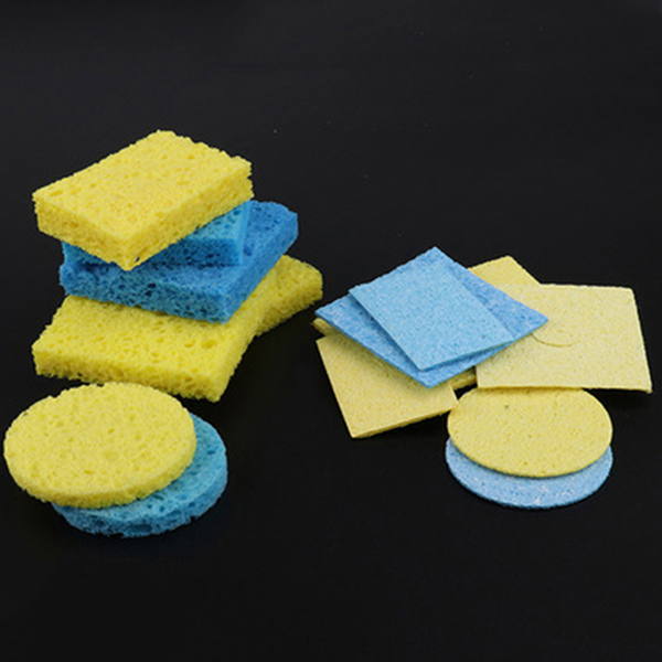 5pcs/lot soldering iron solder tip welding cleaning sponge pads