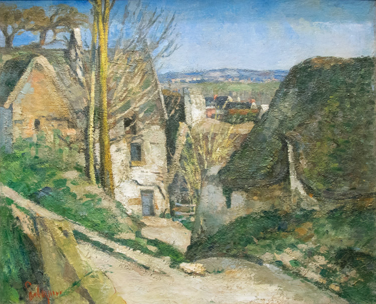 The The The House of the Hanged Man at Auvers,Paul Cezanne,55.5x66.5cm 21d75c