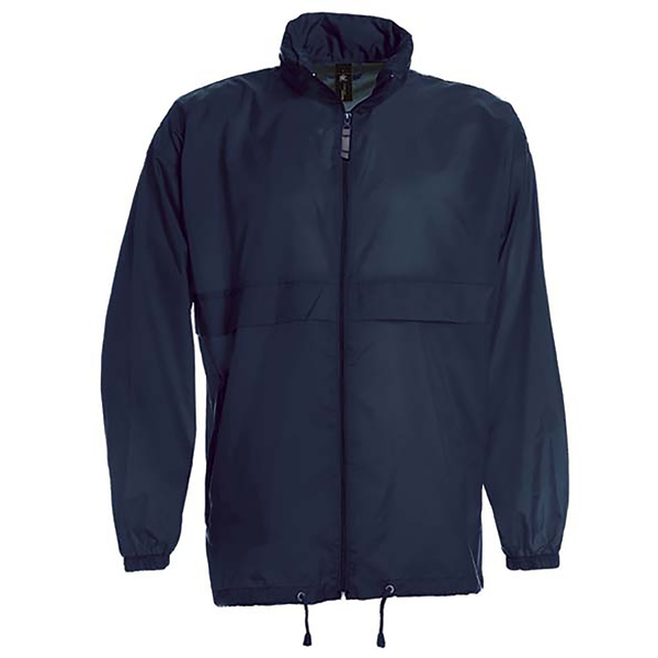 B&c sirocco mens lightweight jacket / mens outer jackets navy bl