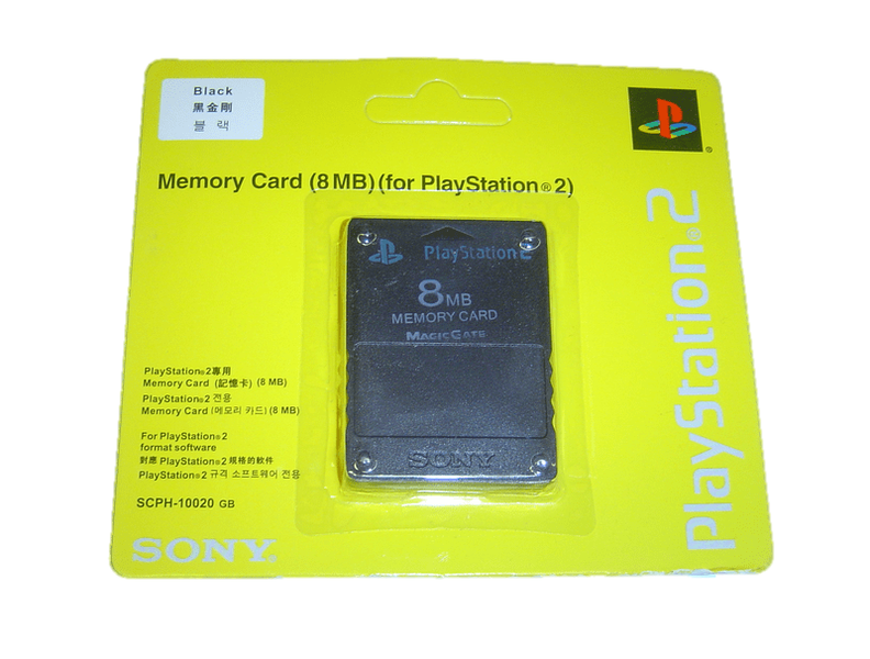 8mb minneskort till sony playstation 2 ps2