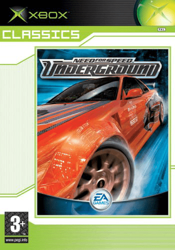 Need for speed: underground- xbox classics