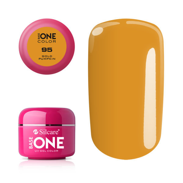 Base one – color – gold pumpkin 5g uv-gel