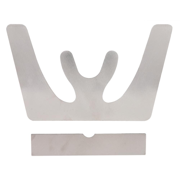 Occlusal plate stainless steel bite plate jaw plane plate te