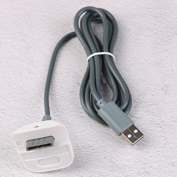 Usb 2.0 cable lead for xbox 360 console wireless gamepad control