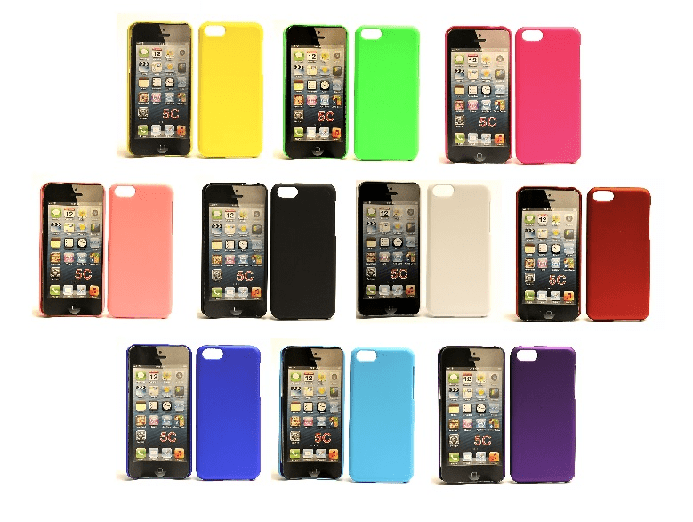 Hardcase skal iphone 5c