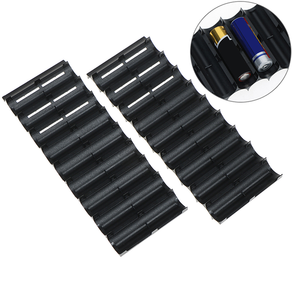 1pcs 10x cell plastic 18650 battery spacer holder cylindrical ce