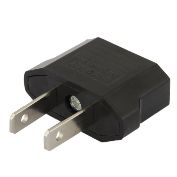 Adapter eu plug till us reseadapter