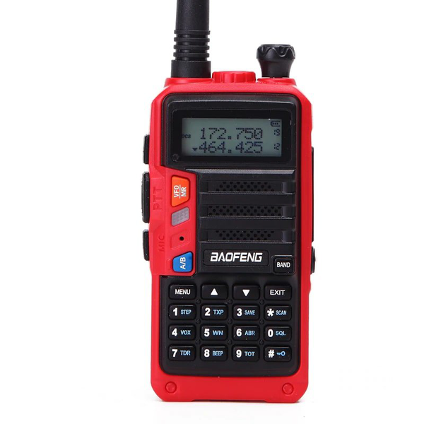 Walkie talkie baofeng uv-s9 – röd