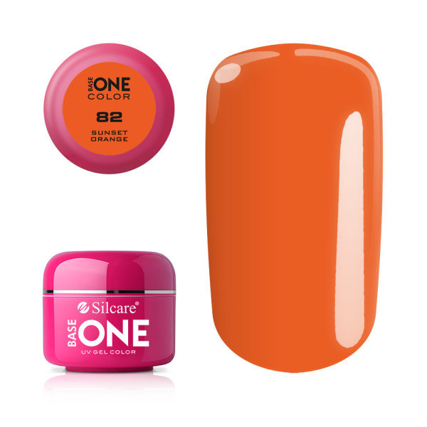 Base one – color – sunset orange 5g uv-gel