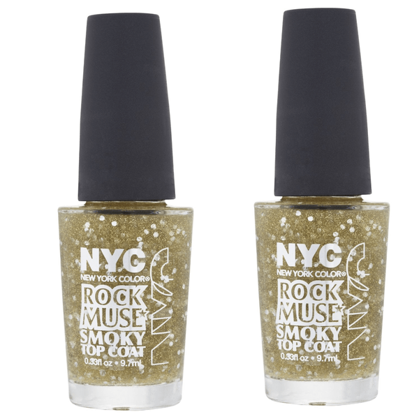 2st nyc rock muse smoky top coat-rock muse smoky champagne gold