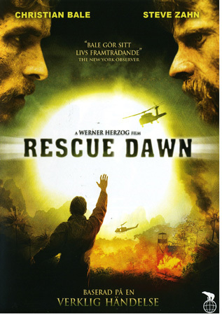 Rescue dawn (dvd) actionthriller med christian bale